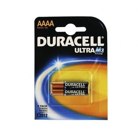 Pack de 2 Pilas AAAA Duracell Ultra MX2500/ 1.5V/ Alcalinas