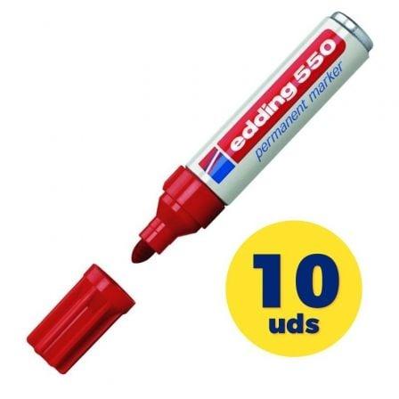 edding 550 - marcador - rojo