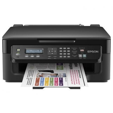 MULTIFUNCIÓN EPSON WIFI CON FAX WORKFORCE WF-2510WF - 34/18 PPM BORRADOR - ESCÁNER 1200X2400PPP - CART. 16 BK/C/M/Y /XL