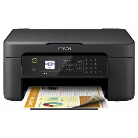 MULTIFUNCIÓN EPSON WIFI CON FAX WORKFORCE WF-2810DWF - 33/18 PPM - DUPLEX - SCAN 1200*2400PPP - PANTALLA LCD - LAN - USB 2.0 - CART.603 BK/C/M/Y XL
