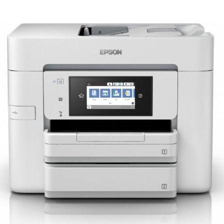 Multifunción Epson Workforce Pro WF-4745DTWF WiFi/ Fax/ Dúplex/ Blanca