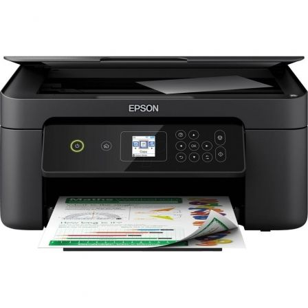 MULTIFUNCIÓN EPSON WIFI EXPRESSION HOME XP-3100 - 33/15PPM - DUPLEX - SCAN 1200*2400PPP - PANTALLA LCD - WIFI DIRECT - CART. 603 BK/C/M/Y XL