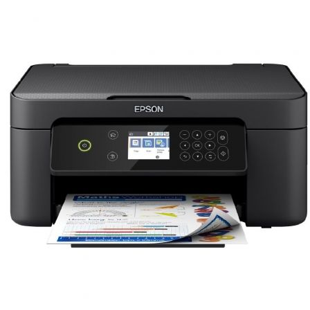 MULTIFUNCIÓN EPSON WIFI EXPRESSION HOME XP-4100 - 33/15PPM - DUPLEX - SCAN 1200*2400 PPP - PANTALLA LCD  - WIFI DIRECT - CAR. 603 BK/C/M/Y XL
