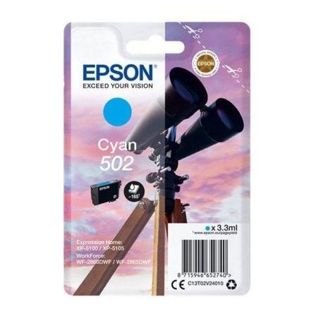 Cartucho de Tinta Original Epson nº502/ Cian