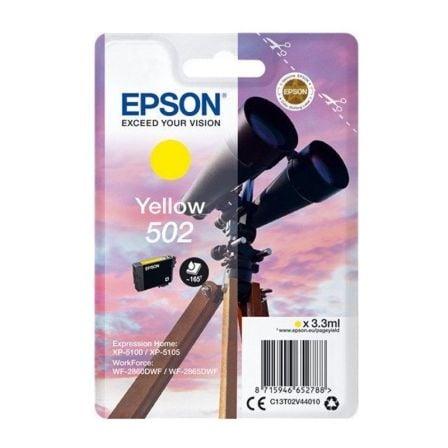 Cartucho de Tinta Original Epson nº502/ Amarillo