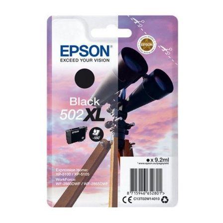 Cartucho de Tinta Original Epson nº502 XL Alta Capacidad/ Negro
