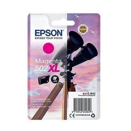 Cartucho de Tinta Original Epson nº502 XL Alta Capacidad/ Magenta