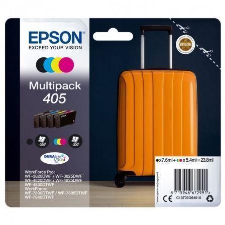 Cartucho de Tinta Original Epson nº405 Multipack/ Negro/ Cian/ Amarillo/ Magenta