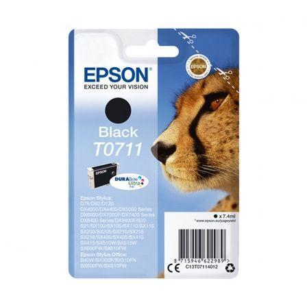Cartucho de Tinta Original Epson T0711/ Negro