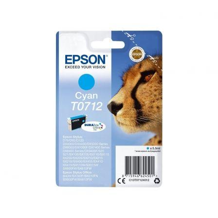 Cartucho de Tinta Original Epson T0712/ Cian