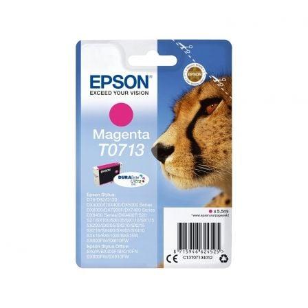 Cartucho de Tinta Original Epson T0713/ Magenta