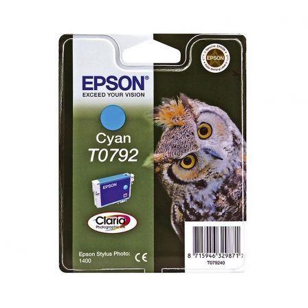 Cartucho de Tinta Original Epson T0792/ Cian