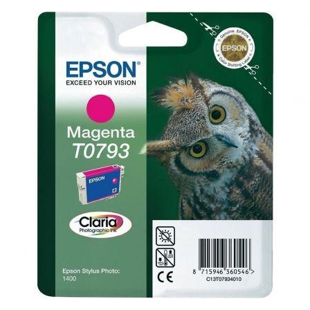 Cartucho de Tinta Original Epson T0793/ Magenta