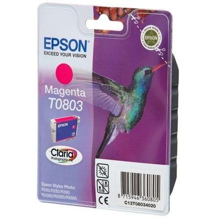 Cartucho de Tinta Original Epson T0803/ Magenta