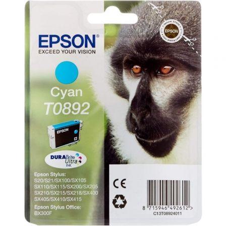 Cartucho de Tinta Original Epson T0892/ Cian