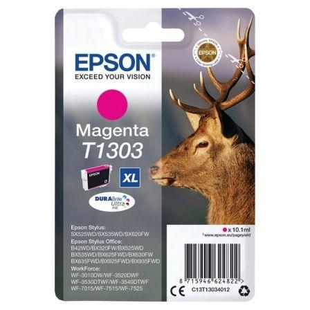 Cartucho de Tinta Original Epson T1303 XL Alta Capacidad/ Magenta