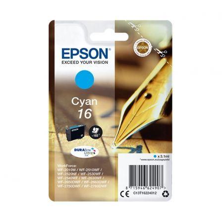 Cartucho de Tinta Original Epson nº16/ Cian