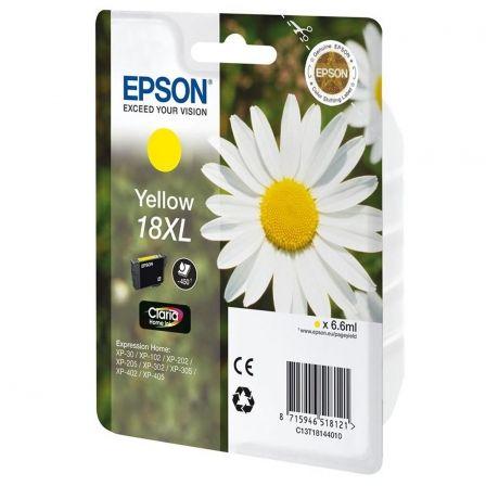 Cartucho de Tinta Original Epson nº18 XL Alta Capacidad/ Amarillo