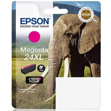 Cartucho de Tinta Original Epson nº24 XL Alta Capacidad/ Magenta