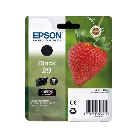 Cartucho de Tinta Original Epson nº29/ Negro