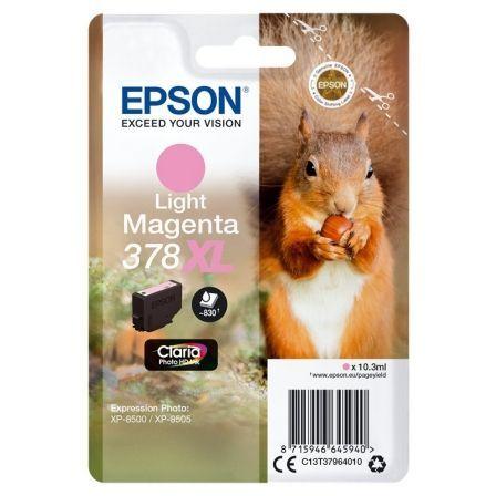Cartucho de Tinta Original Epson nº378 XL Alta Capacidad/ Magenta Claro
