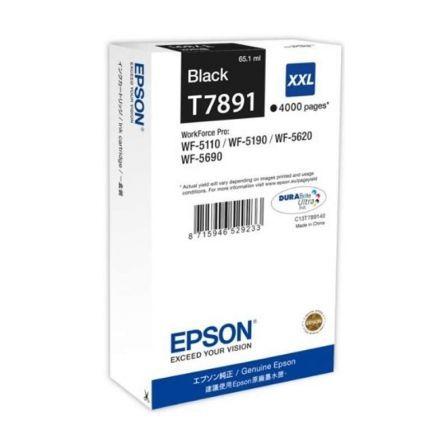 Epson T7891 - tamaño XXL - negro - original - cartucho de impresión
