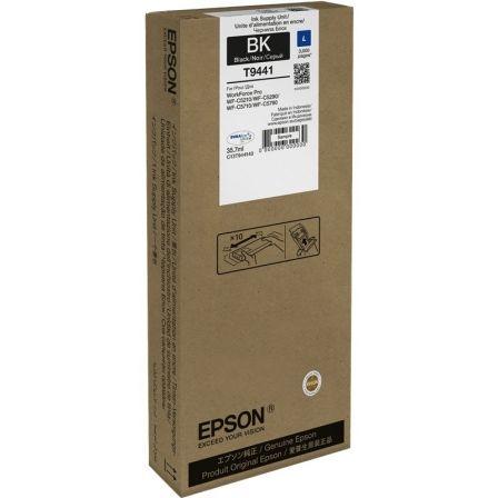 Cartucho de Tinta Original Epson T9441/ Negro