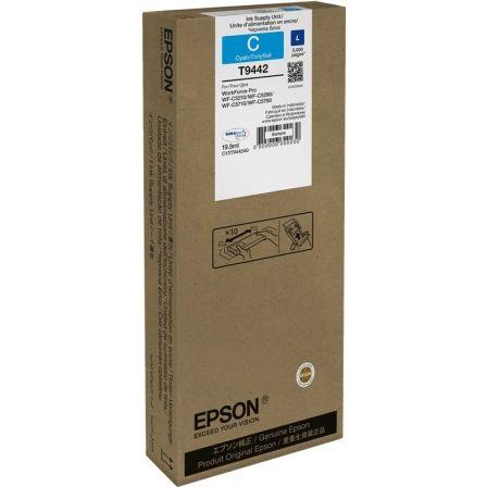 Cartucho de Tinta Original Epson T9442/ Cian