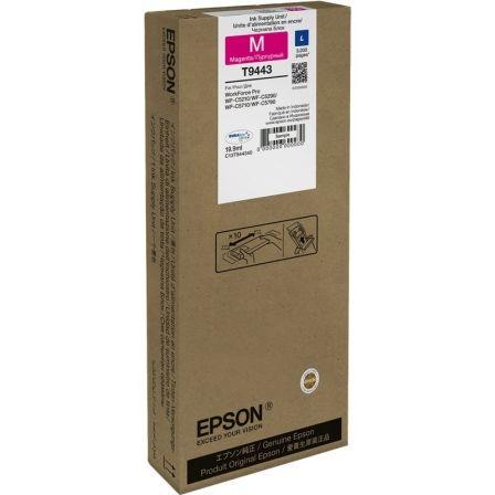 Cartucho de Tinta Original Epson T9443/ Magenta