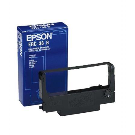 Cinta Matricial Epson ERC-38/ Negro