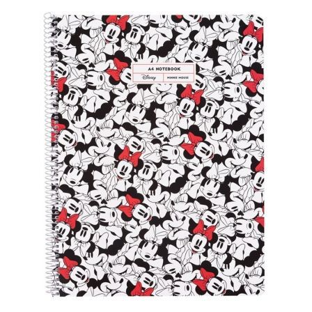 CUADERNO ERIK CTPPMA40005 MINNIE MOUSE ROCKS THE DOTS - 80 PÁGINAS A4 - 90G - PAUTADO - MICROPERFORADO - TAPA POLIPROPILENO