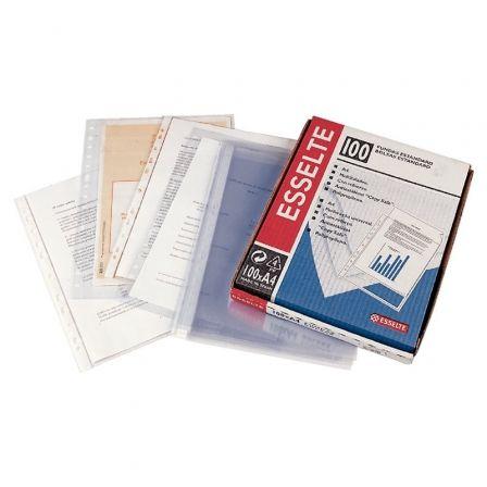 Funda Esselte 46134/ Folio/ 100 unidades