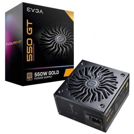 Fuente de Alimentación EVGA 550 GT Supernova/ 550W/ Ventilador 13.5cm/ 80 Plus Gold