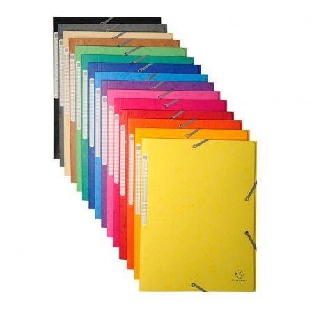 Carpeta Exaclair 17100H/ A4 240 x 320mm/ 50 unidades/ Colores Surtidos