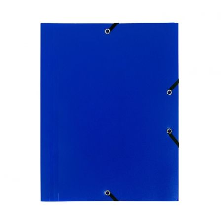 Carpeta Exaclair EXA55902E/ A4 240 x 320mm/ Azul