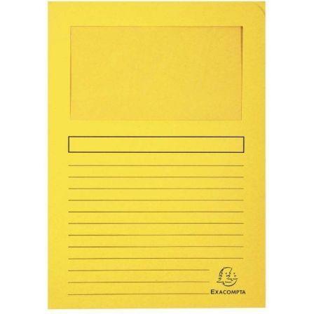 Subcarpeta Exaclair Forever 50109E/ A4/ 100 unidades/ Amarilla