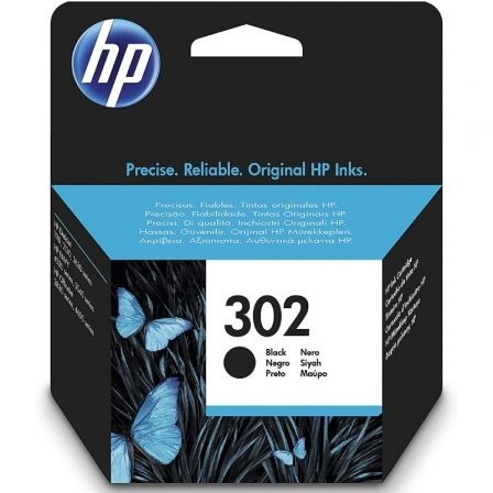 Cartucho de Tinta Original HP nº302/ Negro