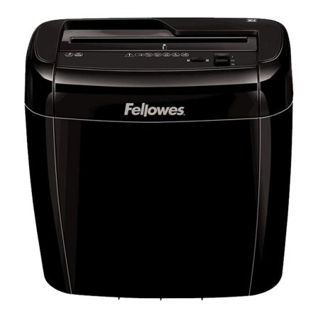 Destructora Fellowes 36C/ Corte en Partículas de 4 x 40mm/ Negra
