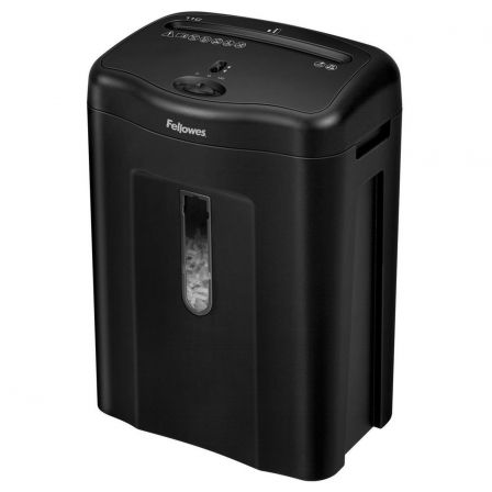 Destructora Fellowes Powershred 11C/ Corte en Partículas de 4 x 52mm/ Negra