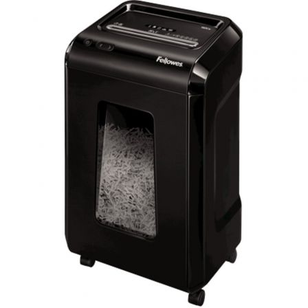 Destructora Fellowes 92CS/ Corte en Partículas de 4 x 38mm/ Negra