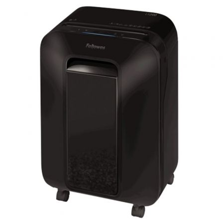 Destructora Fellowes LX200/ Minicorte de 4 x 12mm/ Negra
