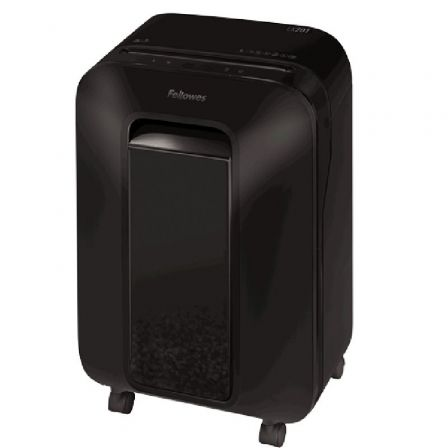 Destructora Fellowes LX201/ Corte en Partículas de 2 x 12mm/ Negra