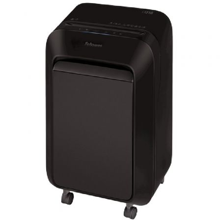 Destructora Fellowes LX210/ Minicorte de 4 x 12mm/ Negra