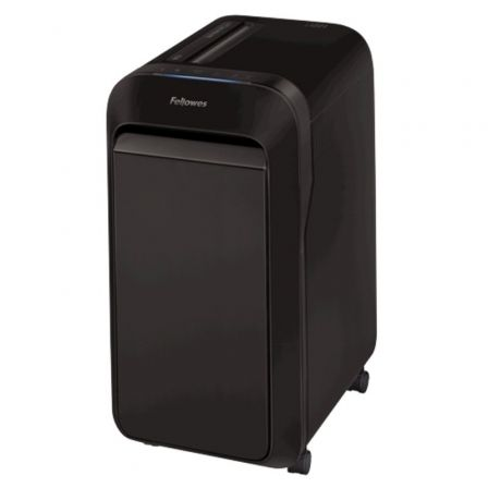 Destructora Fellowes LX221/ Microcorte de 2 x 12mm/ Negra
