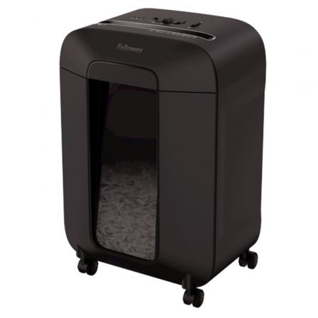 Destructora Fellowes LX85/ Corte en Partículas de 4 x 40mm/ Negra