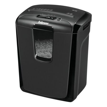 Destructora Fellowes M-8C/ Corte en Partículas de 4 x 46mm/ Negra