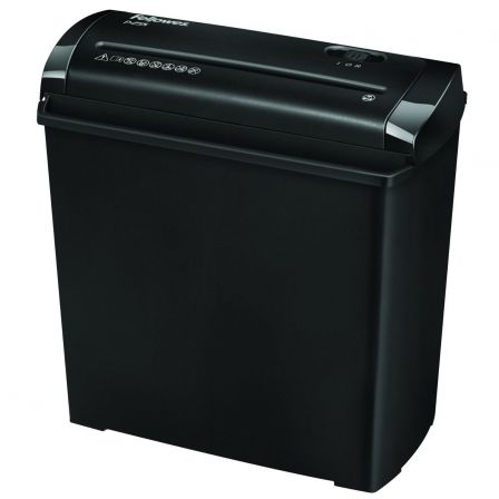 Destructora Fellowes P-25S/ Corte en Tiras de 7mm/ Negra
