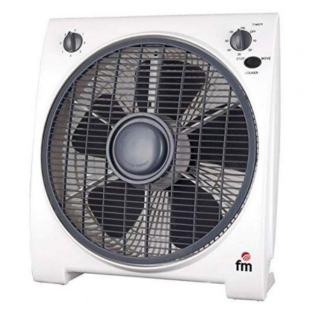 Ventilador de Suelo FM BF-4/ 45W/ 5 Aspas 30cm/ 3 velocidades