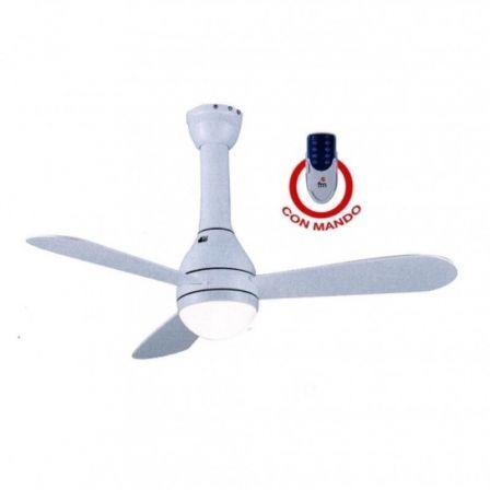 Ventilador de Techo FM VT-105 SOFT/ 50W/ 3 Aspas 105cm/ 3 velocidades