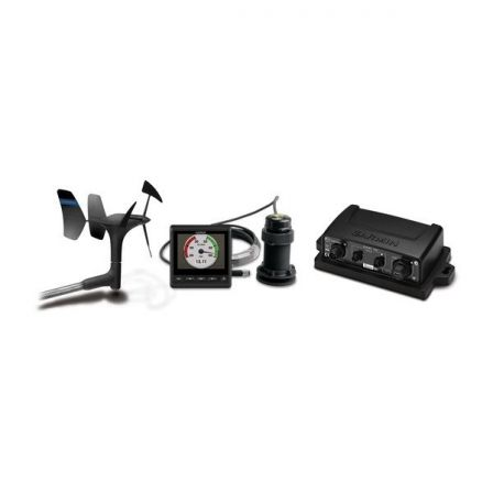 Pack Instrumentación Garmin gWind Pack S2/ Incluye Display GMI20 + Brazo Viento gWind + Triducer DST800